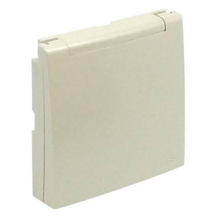 Лицевая панель для розетки Efapel (90634 TPE) жемчуг