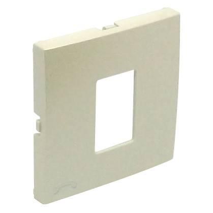 Лицевая панель для телефонной розетки Efapel (90712 TPE) жемчуг