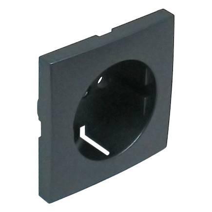 Лицевая панель для розетки Efapel (90631 TIS) тёмно-серый