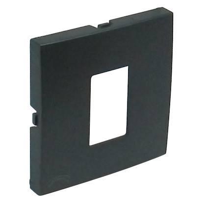 Лицевая панель для телефонной розетки Efapel (90712 TIS) тёмно-серый