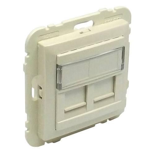 Лицевая панель для розетки Efapel (90442 SPE) жемчуг