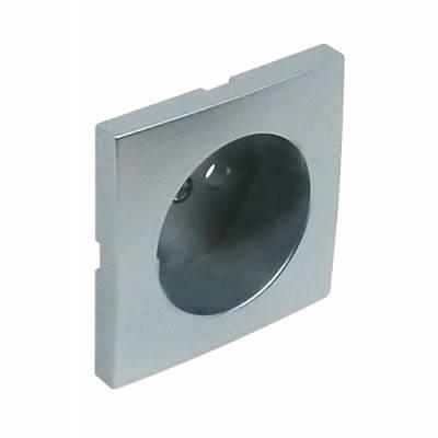 Лицевая панель для розетки Efapel (90621 TAL) алюминий