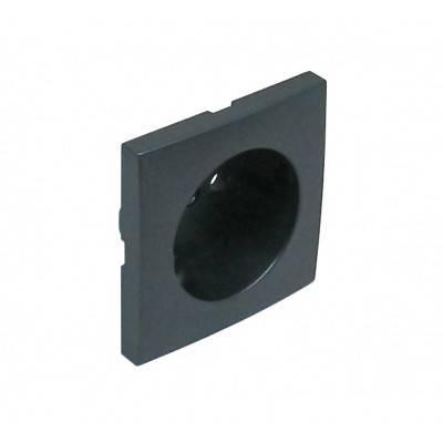 Лицевая панель для розетки Efapel (90621 TIS) тёмно-серый