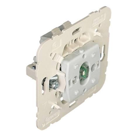 Выключатель Efapel MEC21, одноклавишный, бежевый, перекрёстный (21052)