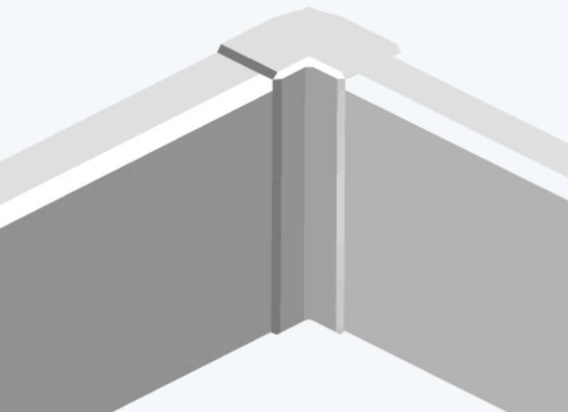 Угол внутренний Efapel 10052 ABR