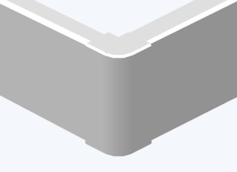 Угол внешний Efapel 10056 ABR
