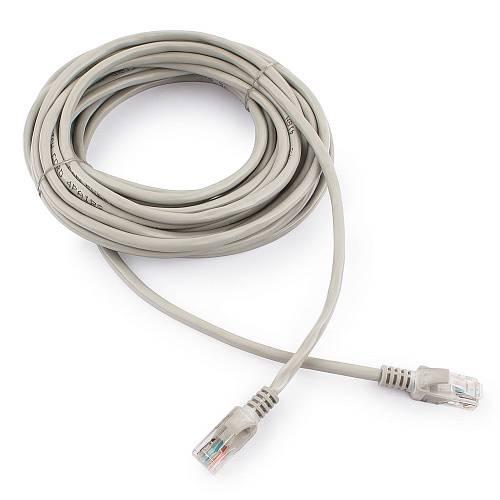 Патч-корд utp 5e Cablexpert PP10-7.5M серый