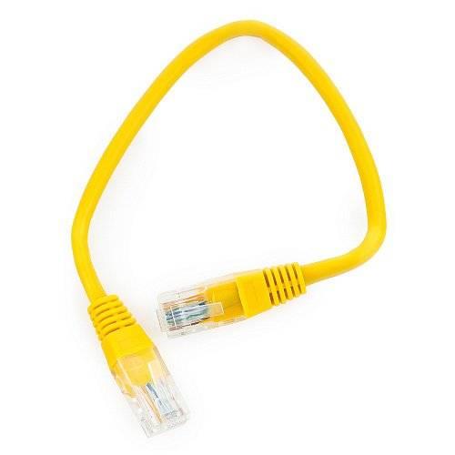 Патч-корд Cablexpert PP12-0.25M/Y
