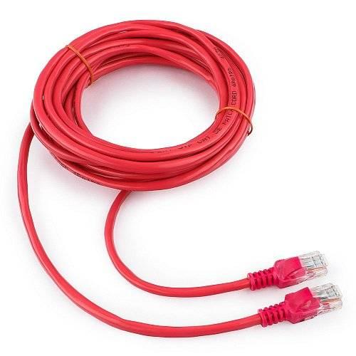 Патч-корд Cablexpert PP12-5M/RO