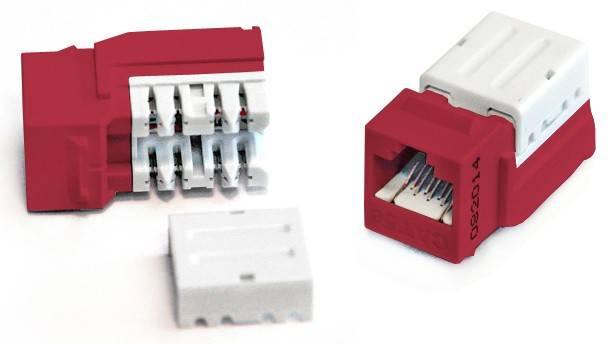 Модуль Keystone Hyperline KJNE-8P8C-C6-90-RD