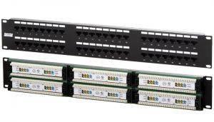 Патч-панель Hyperline PP2-19-48-8P8C-C5e-110D
