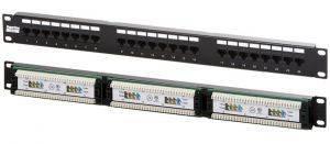 Патч-панель Hyperline PP2-19-24-8P8C-C5e-110D