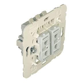 Efapel 21101 Механизм двухклавишного проходного выключателя