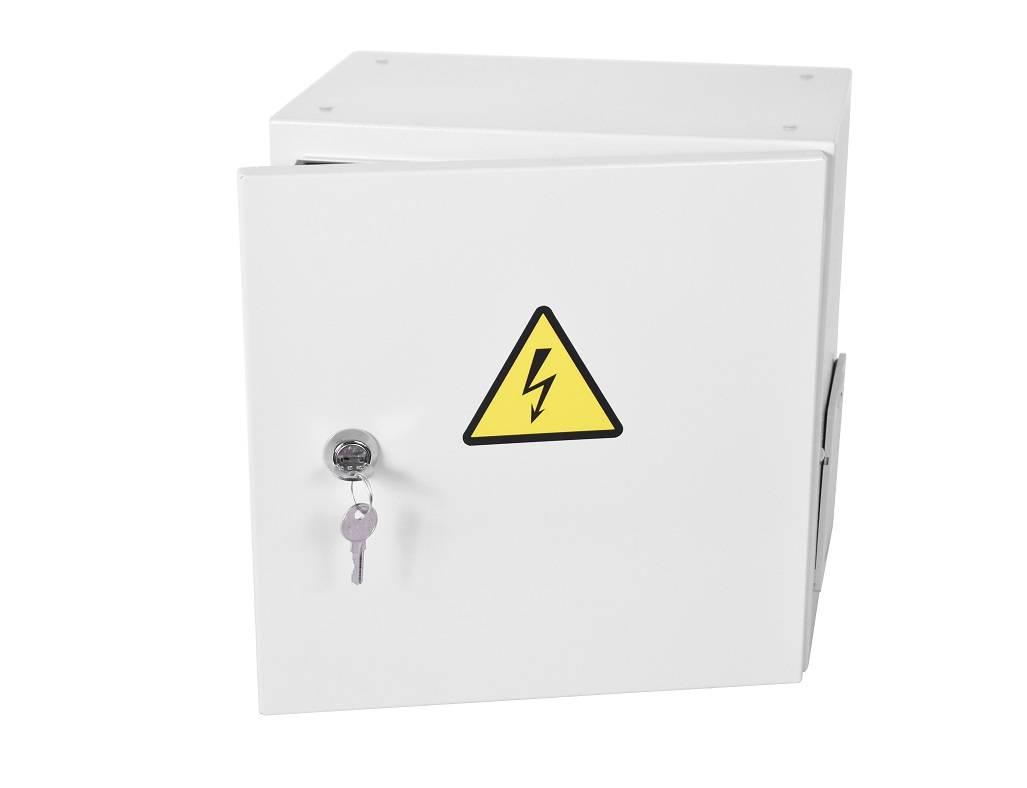 Шкаф уличный всепогодный настенный ЦМО ШТВ-НЭ-4.4.25-3ВВА-Т1