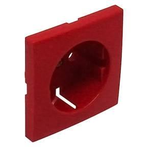 Efapel 90631 TVM Лицевая панель для розетки 2к+з, красная