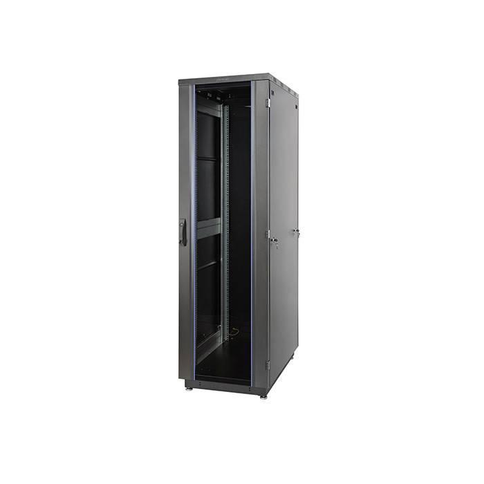 Шкаф телекоммуникационный напольный 19 дюймов Eurolan 60F-33-66-31BL