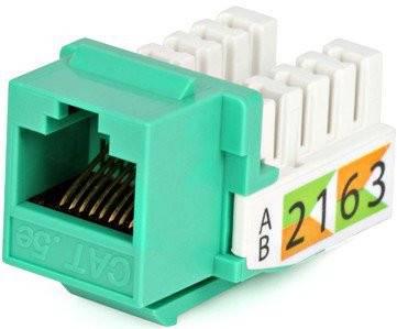 Модуль Keystone Hyperline KJ2-8P8C-C5e-90-GN