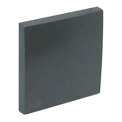 Клавиша для выключателя Efapel Logus90, 45х45 мм (ВхШ), кол-во клавиш: 1, цвет: тёмно-серый, (90605 TIS)