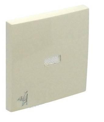 Клавиша для выключателя Efapel Logus90, 45х45 мм (ВхШ), с индикацией, кол-во клавиш: 1, цвет: бежевый, (90796 TMF)