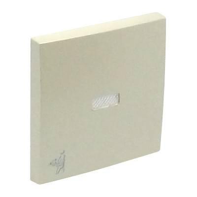 Клавиша для выключателя Efapel Logus90, 45х45 мм (ВхШ), с индикацией, кол-во клавиш: 1, цвет: жемчуг, (90796 TPE)