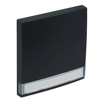 Клавиша для выключателя Efapel Logus90, 45х45 мм (ВхШ), кол-во клавиш: 1, цвет: чёрный, (90603 TPM)