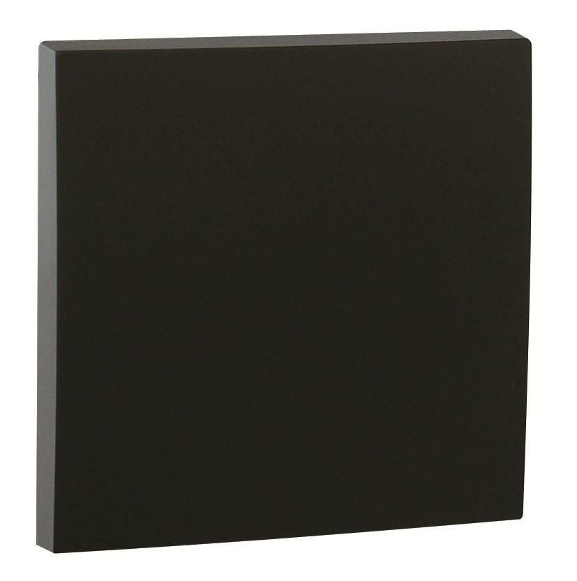 Клавиша для выключателя Efapel Logus90, 45х45 мм (ВхШ), кол-во клавиш: 1, цвет: чёрный, (90601 TPM)