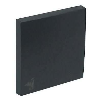Клавиша для выключателя Efapel Logus90, 45х45 мм (ВхШ), кол-во клавиш: 1, цвет: чёрный, (90606 TPM)