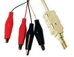 Шнур тестовый 4-х контактный Hyperline KR-CABLE-CRO4