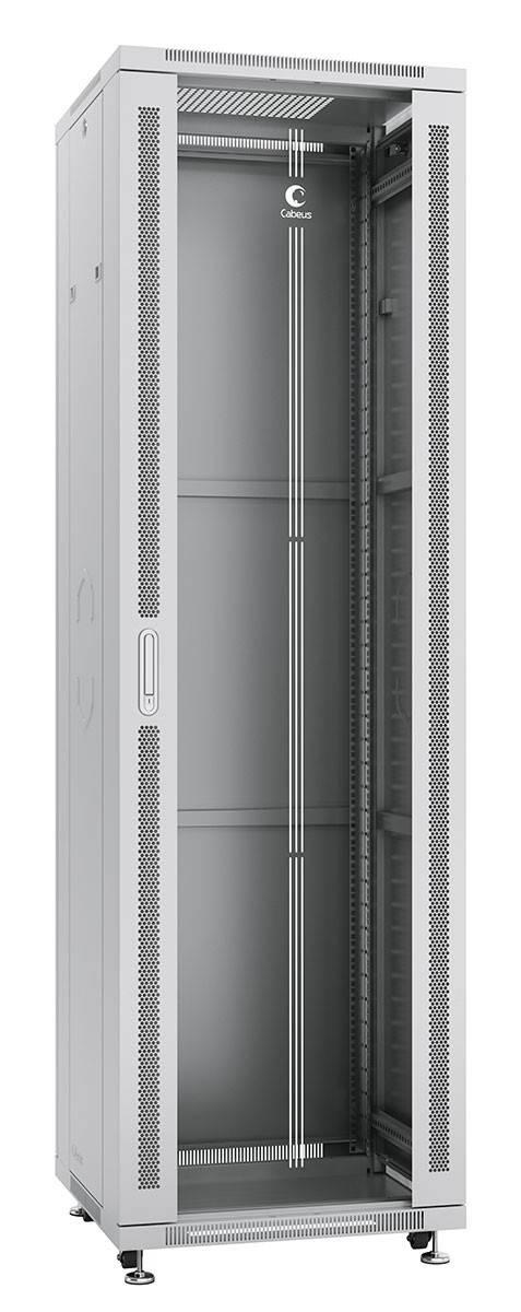 Шкаф телекоммуникационный 19 напольный Cabeus SH-05C-42U60/80