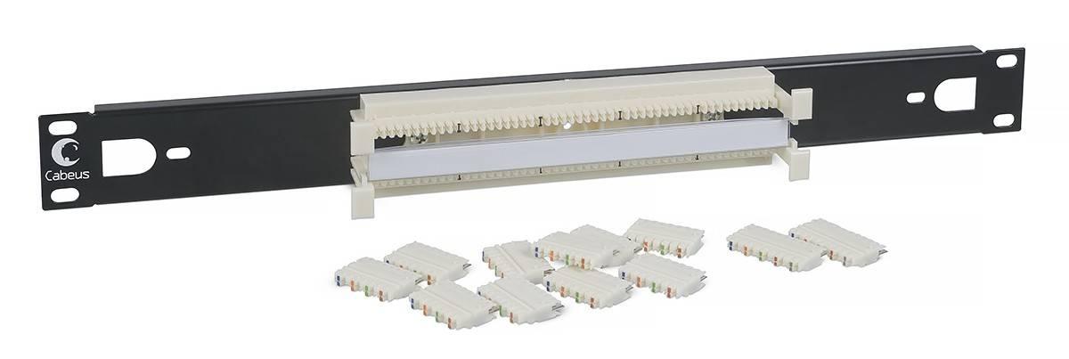 Кросс панели 19 Cabeus CP-50P-110TYPE