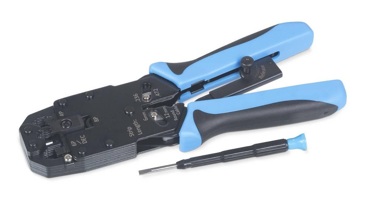 Обжимной инструмент Cabeus HT-2008AR