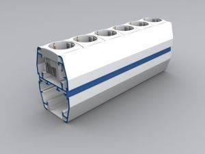 Миниколонна Alusor CODI MC 110/80C (h=270mm)