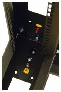 Стойка 19 телекоммуникационная серверная ЦМО СТК-49.2-9005-4