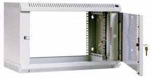 Шкаф настенный 19 дюймовый телекоммуникационный ЦМО ШРН-6.650-3