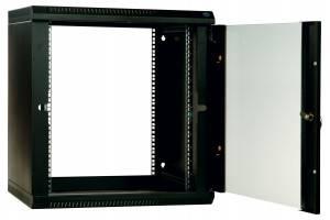 Шкаф настенный 19 дюймовый телекоммуникационный ЦМО ШРН-Э-9.350-9005-3