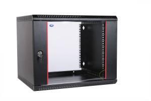 Шкаф настенный 19 дюймовый телекоммуникационный ЦМО ШРН-Э-9.350-9005-6