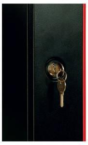 Шкаф настенный 19 дюймовый телекоммуникационный ЦМО ШРН-Э-6.650-9005-3