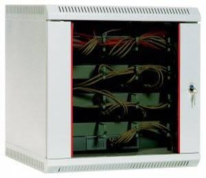 Шкаф настенный 19 дюймовый телекоммуникационный ЦМО ШРН-9.480-1