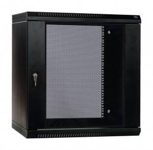 Шкаф настенный 19 дюймовый телекоммуникационный ЦМО ШРН-Э-12.500-9005-1