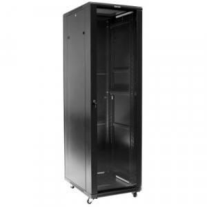 Шкаф 19 напольный серверный Hyperline TTC-3288-GS-RAL9004