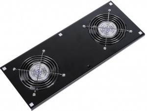 Модуль вентиляторный Hyperline TFAT-TC600-2-RAL9004