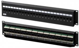 Патч-панель Hyperline PPW-24-8P8C-C5e-FR