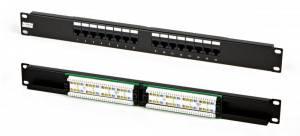 Патч-панель Hyperline PP2-19-16-8P8C-C5e-110D