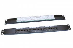 Патч-панель Hyperline PP3-19-16-8P8C-C5E-110D