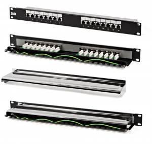 Патч-панель Hyperline PP-19-16-8P8C-C5e-SH-110D