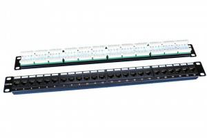 Патч-панель 19 Hyperline PP3-19-24-8P8C-C5e-110D
