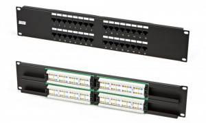 Патч-панель Hyperline PP2-19-32-8P8C-C5e-110D