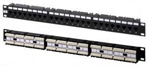 Патч-панель Hyperline PP-19-24-6P4C-C2