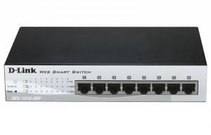 Коммутатор 8 портов D-Link DL-DES-1210-08P/B1A