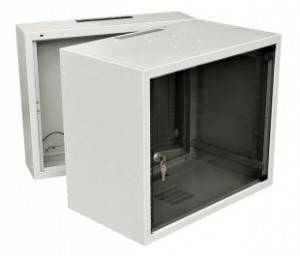 Шкаф настенный 19 дюймовый телекоммуникационный Zpas WZ-3715-01-05-011